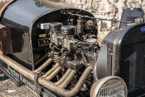 1930 Ford Model A Boattail Engine