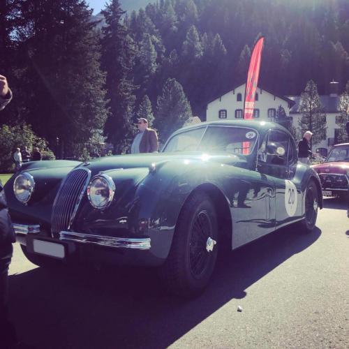 1954 Jaguar XK120 Coupe